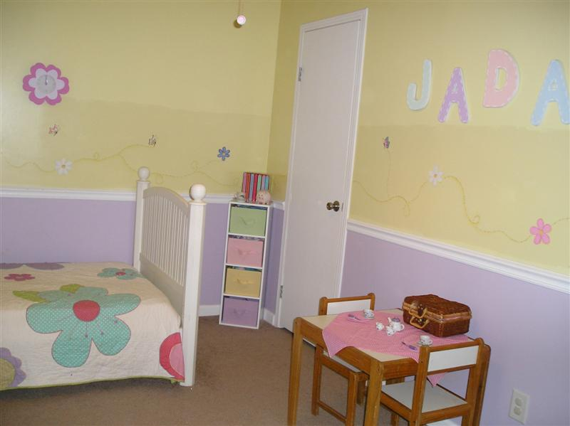 Jada's Room After