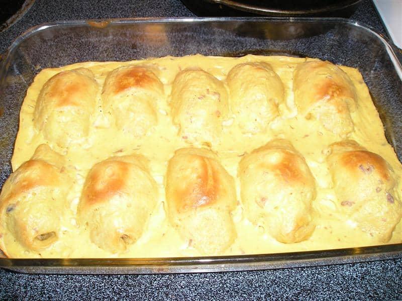 Chicken Breast Roll Ups - Recipe - Cookscom