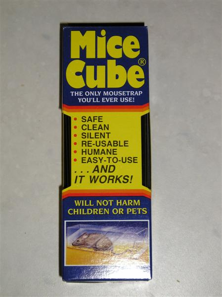 Mice Cube mouse trap