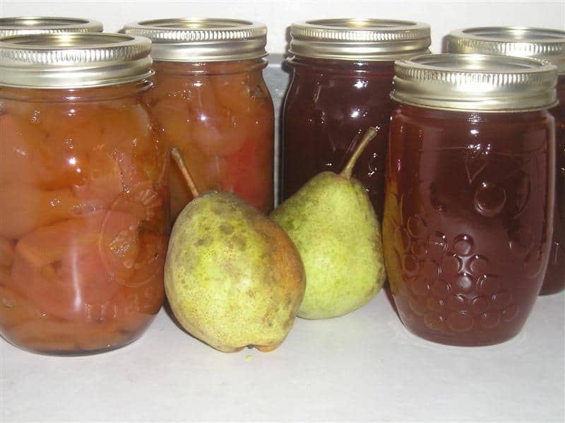 How To Can Pear Preserves & Pear Glaze