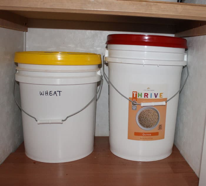 grains & Emergency Preparedness Part One: Food Storage