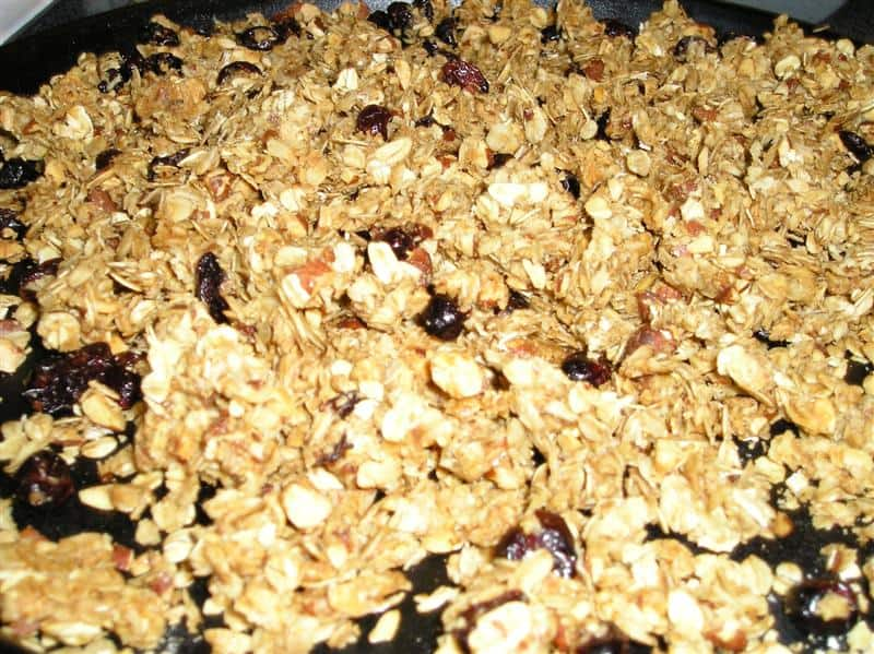 Delicious Cranberry-Almond Granola (Or, However You Like It!)