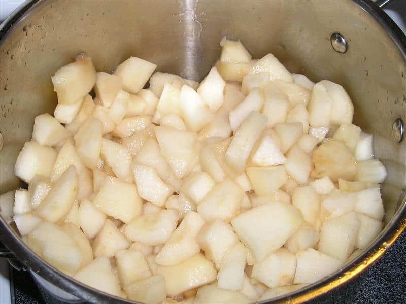 pear sauce canning recipe