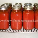 canning tomato juice recipe