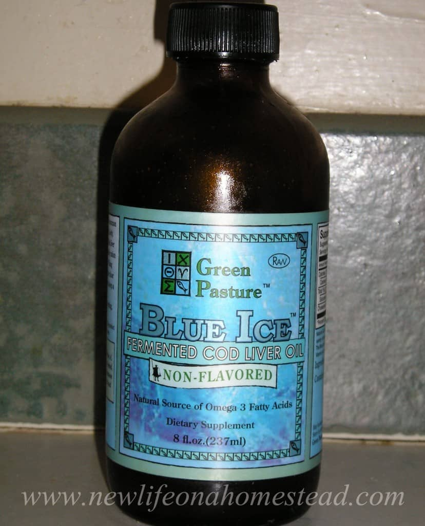 fermented cod liver oil for eczema