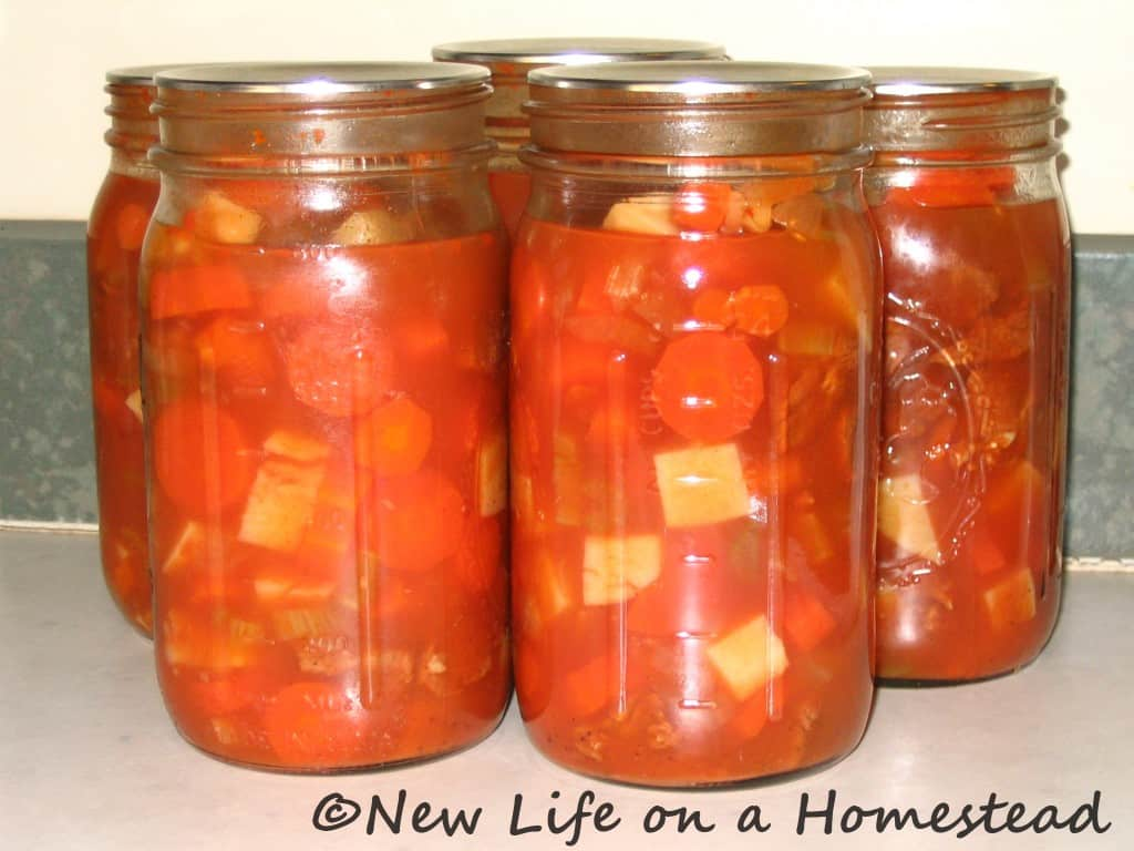 beef stew canning recipe