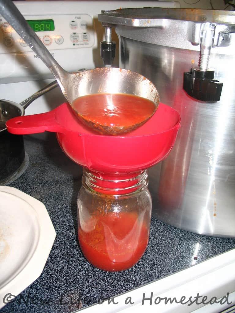 Tomato Sauce Canning Recipe