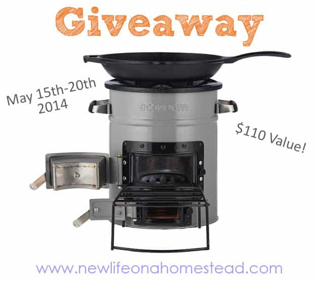 The NEW EcoZoom Versa Stove GIVEAWAY!
