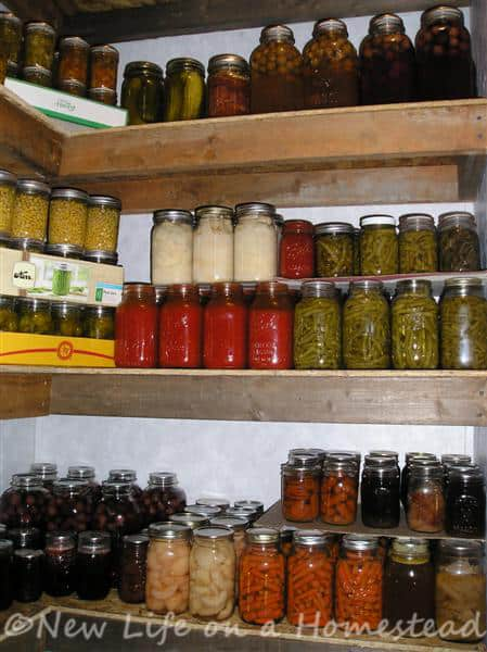 My canning pantry