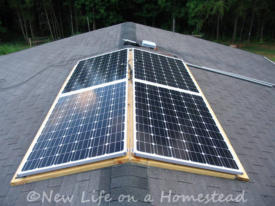 the solar panels are up! \u2022 new life on a homestead homesteading blogSolar Installing A Power Transfer Switch O New Life On A Homestead #8