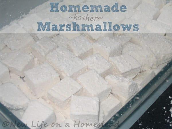 Homemade Kosher Marshmallows