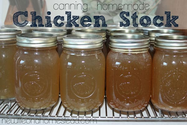 How To Can Chicken Stock