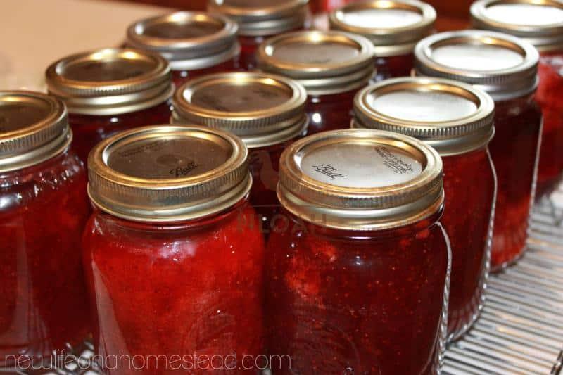 strawberry jam step 13