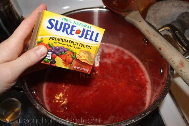 strawberry jam step 3