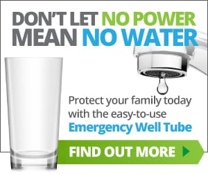 Emergency Well Tube