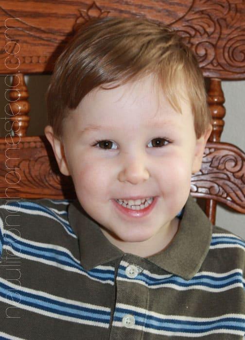 Elias 3 years old