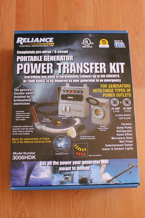 Connecting A Power Transfer Switch For Solar