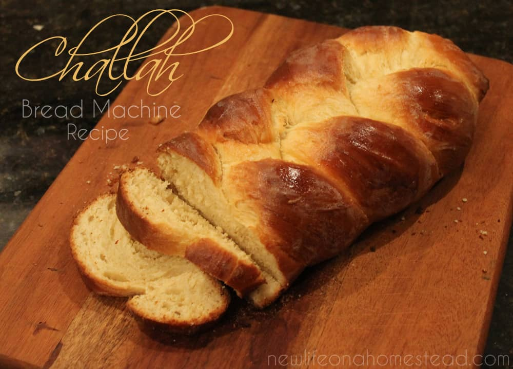 Bread Machine Braided Challah Recipe Tutorial | https://newlifeonahomestead.com