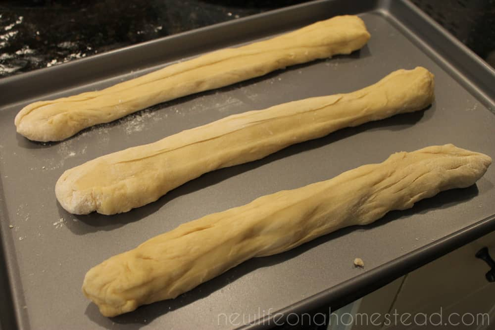 braided bread three strands