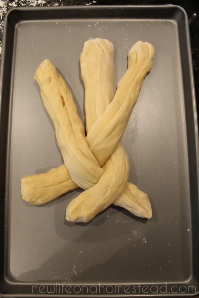 braiding bread 4