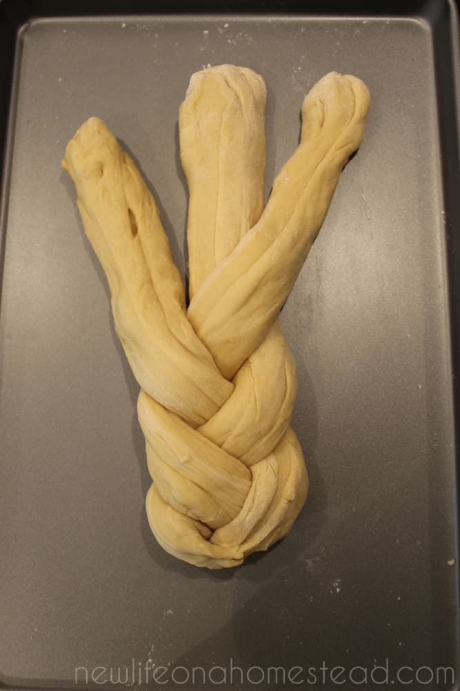braiding bread 6