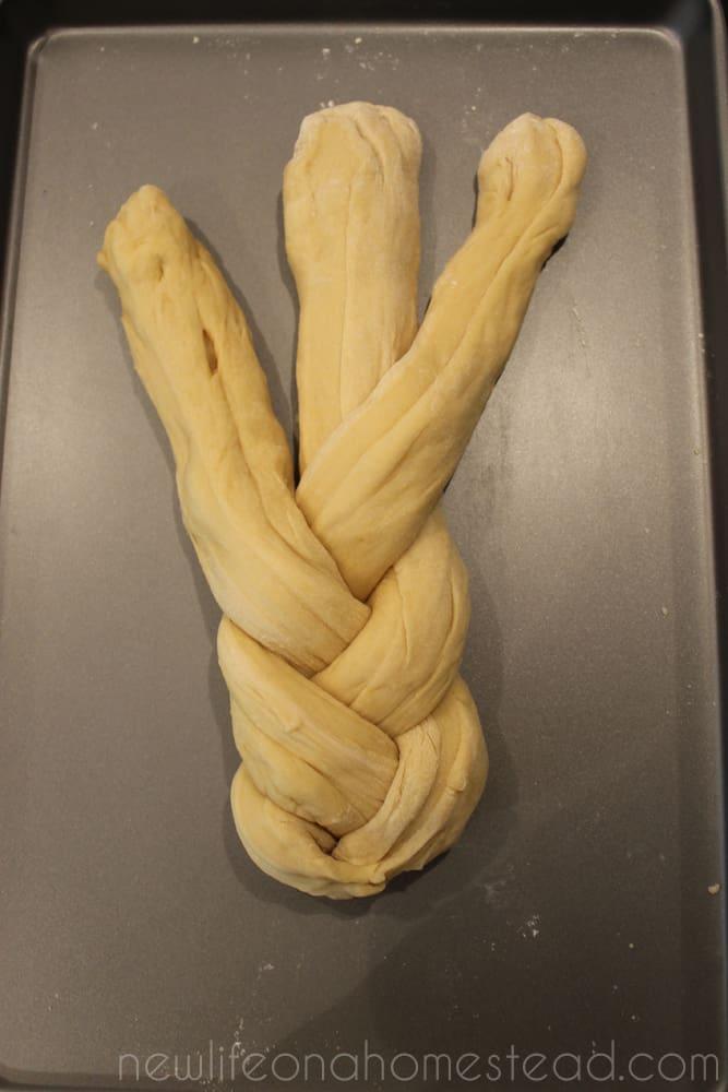 braiding bread 6