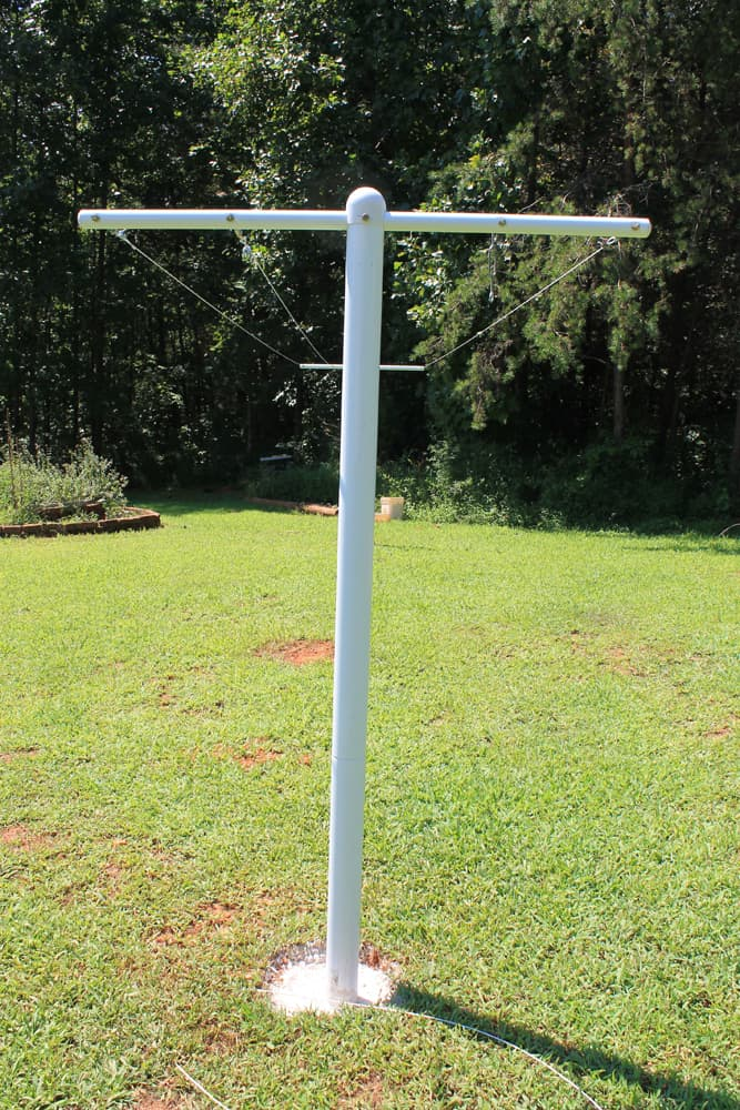 How To Make A Clothesline Awesome How To Install A Permanent Clothesline Metal Vs Wood New Life On