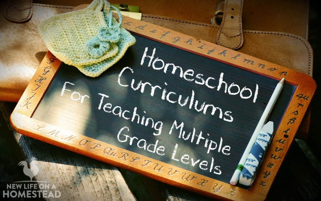Homeschool Curriculums For Teaching Multiple Grade Levels.