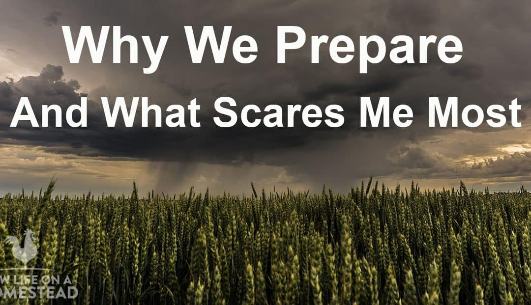Why We Prepare, And What Scares Me Most