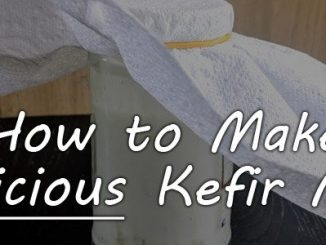 How to Make Kefir Milk featured