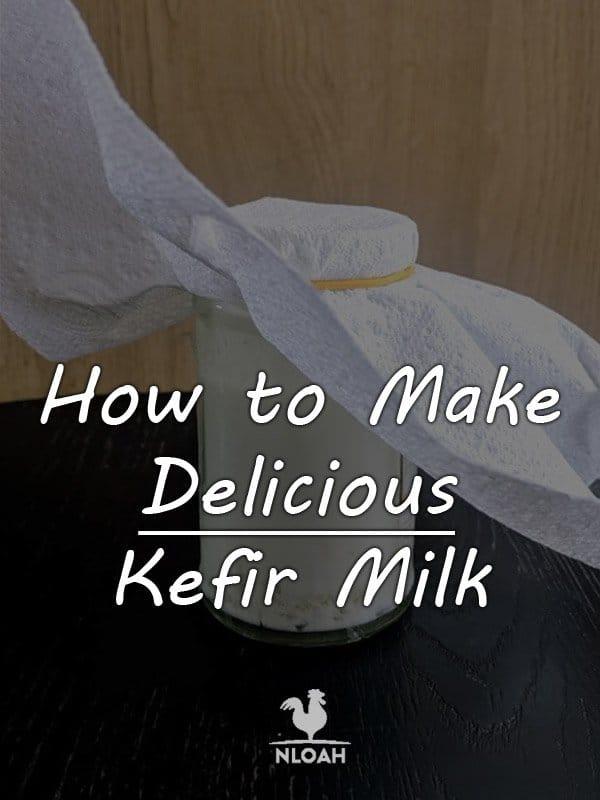 how to make kefir milk pinterest