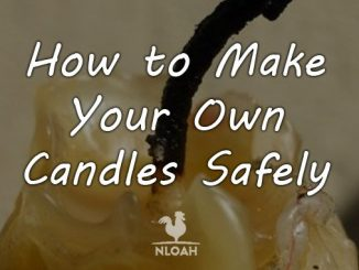 how to make candles cover