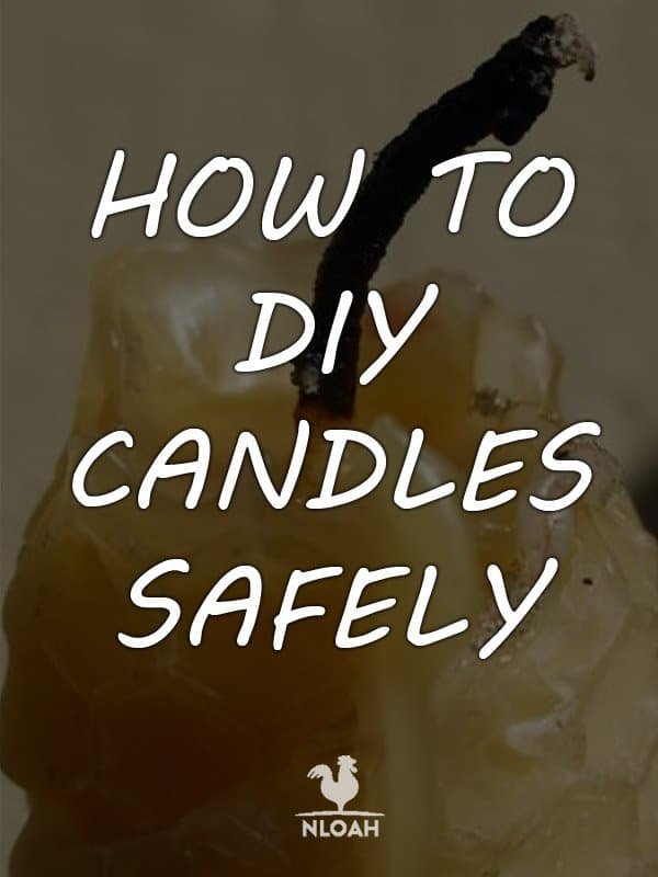 how to make candles pinterest