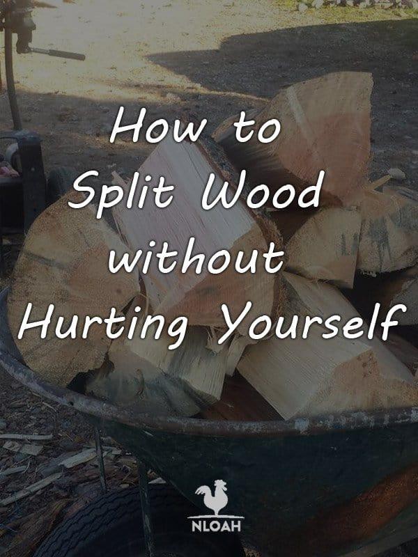 how to split wood pinterest