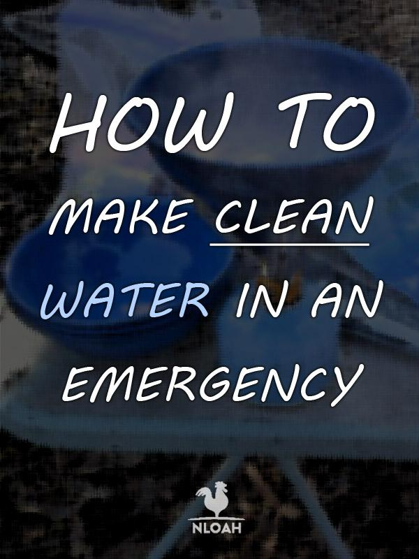 how to purify water pinterest