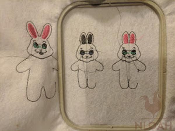 bunny design 2