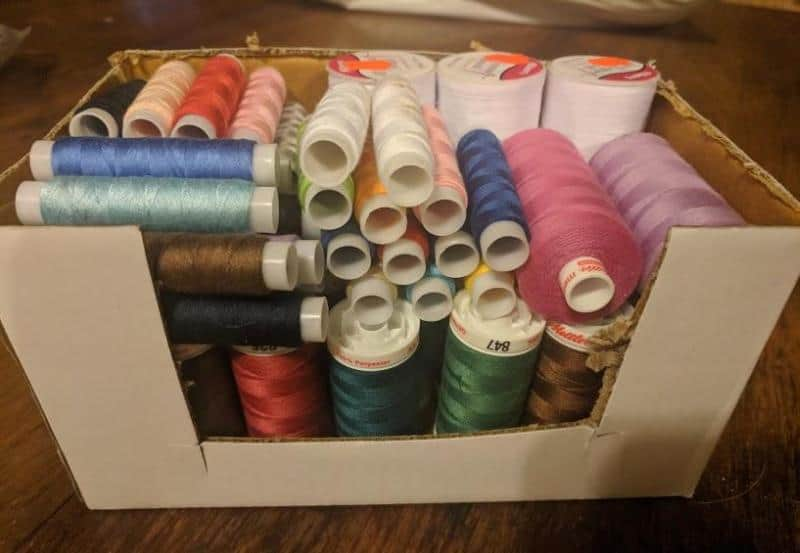 embroidery thread pools