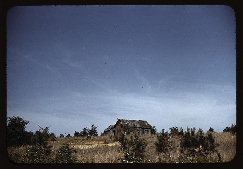1940s homestead cabin