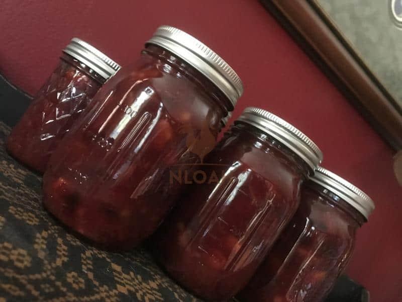 Cranberry walnut conserve landscape