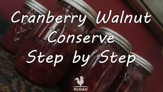 cranberry walnut conserve logo