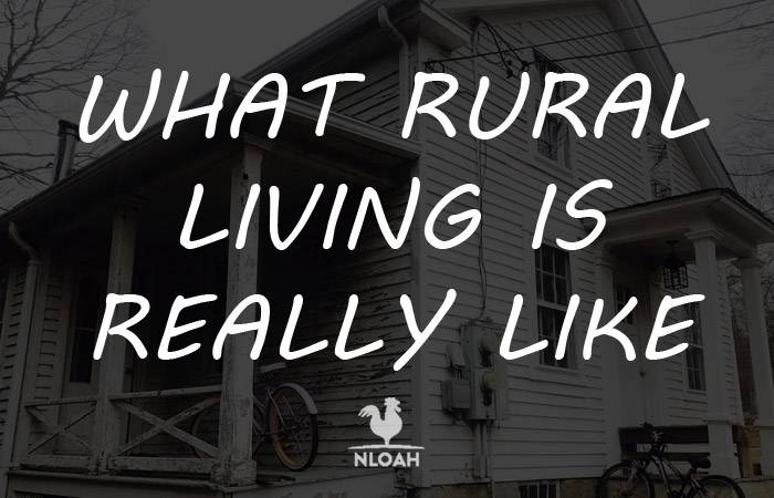 what rural living is like logo