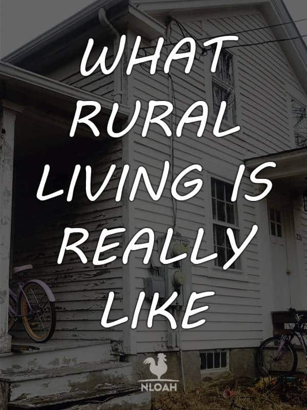 what rural living is like pinterest