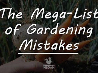 gardening mistakes logo