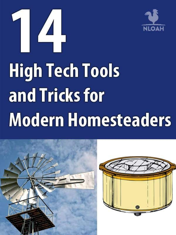 high tech homesteading pinterest