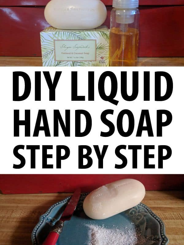 diy liquid hand soap pinterest