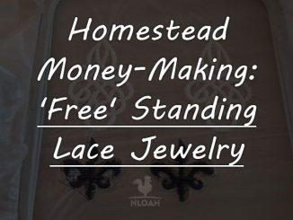 free standing lace jewellry logo