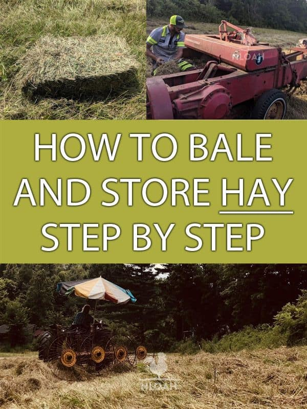 how to bale hay pinterest