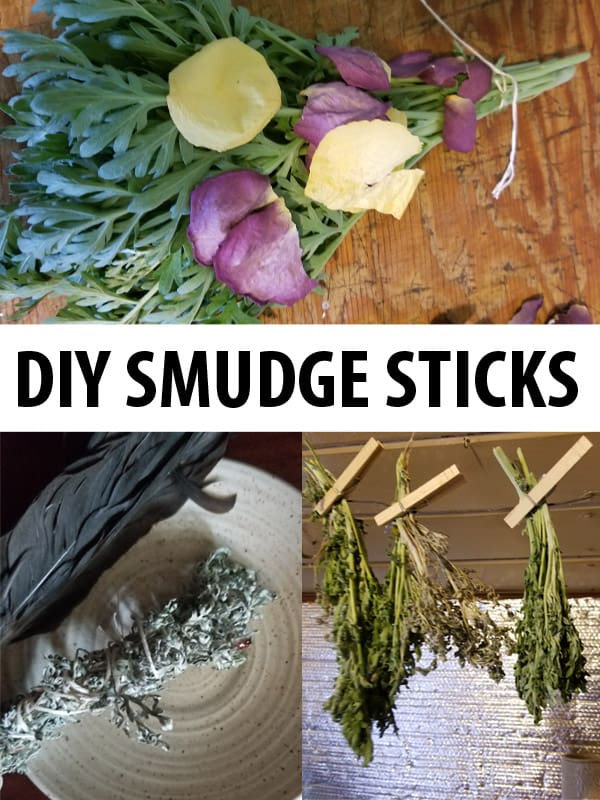 diy smudge sticks pinterest