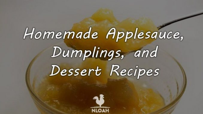 homemade applesauce logo