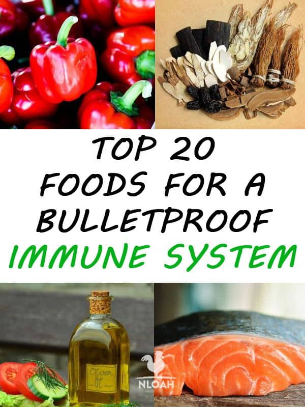 foods for immune system pinterest